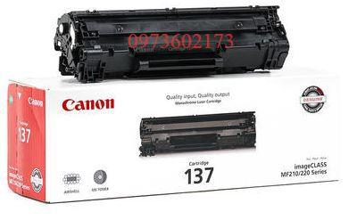 mực in Canon 137 chính hãng