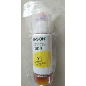 Mực In Epson L1110/L3110/L3150 - Mực Epson 003 Yellow