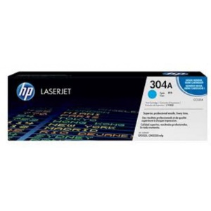 Mực In HP 304A Cyan Original LaserJet Toner Cartridge (CC531A)