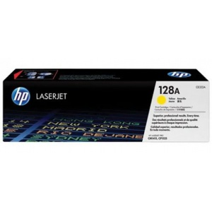 Mực In HP 128A Yellow Original LaserJet Toner Cartridge (CE322A)
